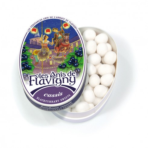 Oval tin blackcurrant - 50g