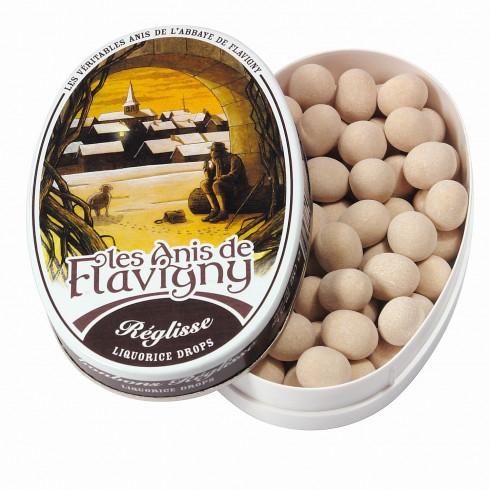 Boîte ovale - Bonbons Réglisse 50g
