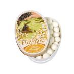 Boîte ovale - Bonbons Oranger 50g