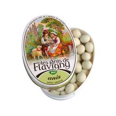 Boîte ovale Bonbons Anis Bio 50g