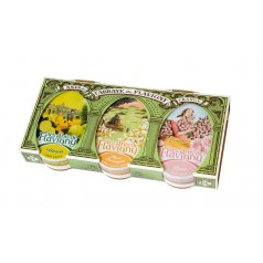 Gift set : Lemon, Rose, Orange Blossom 3 X 50g