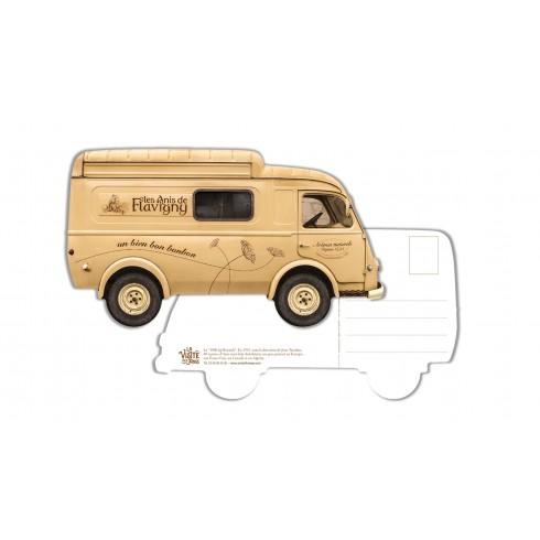 Carte Postale Camion des Anis de Flavigny