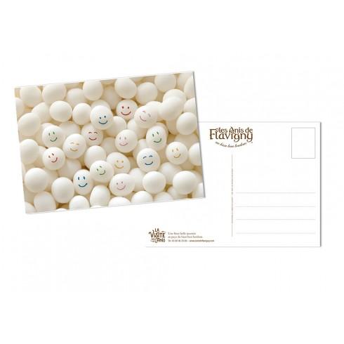 Postcard Smileys - Candies Anis de Flavigny