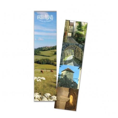 Bookmark - Village of  Anis de Flavigny