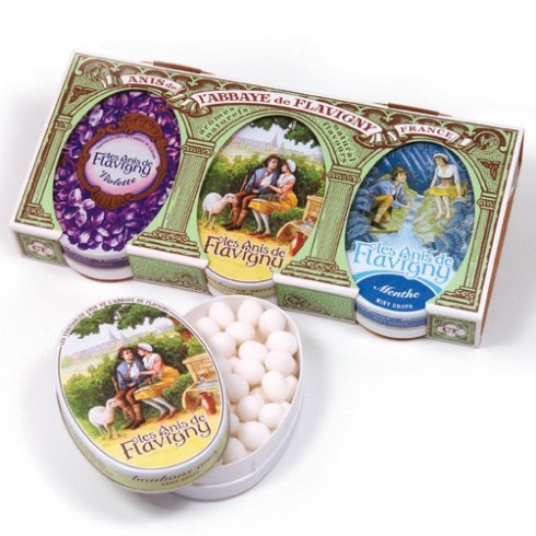 Gift set : Anised, Mint, Violet 3 X 50g