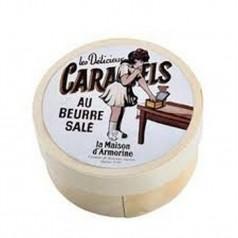 Mini boîte ronde caramels beurre salé SERVEZ VOUS Maison Armorine - 50g