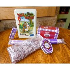 Idée Cadeaux Boite à Sucre spécialité Violette
