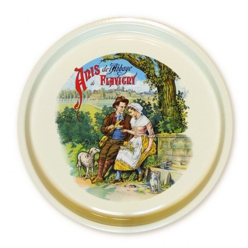 Round tray - Anis de Flavigny