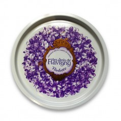 Round tray - Violet