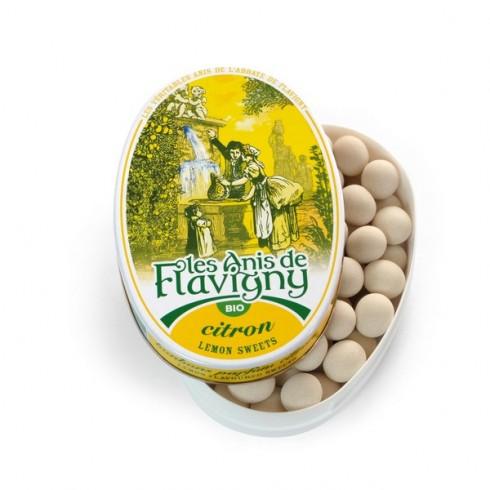 Oval tin organic Lemon - 50g