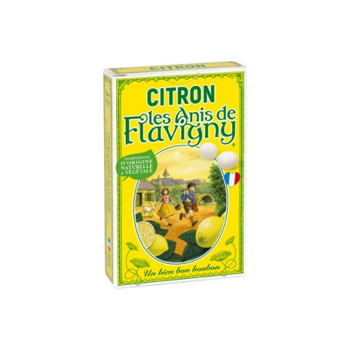 Etui Bonbons Citron- 40g