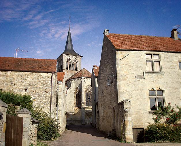 Les ruelles du village de Flavigny
